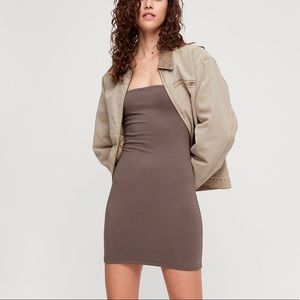 Aritzia TNA Tube Mini Dress